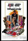 65348 Live and Let Die Movie Roger Moore, Jane Seymour FRAMED CANVAS PRINT UK £15.95 GBP on eBay