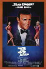 66219 Never Say Never Again Movie ean Connery FRAMED CANVAS PRINT UK £23.95 GBP on eBay