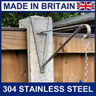 Stainless Steel hanging basket brackets for concrete posts for 5