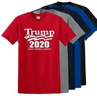 President Trump 2020 Keep America Great Political T Shirt Graphic Tee  image