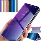 Flip Smart Case for Samsung Galaxy S8 Plus / S8 Clear View Mirror Stand Cover