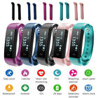 heart rate monitors bluetooth - ID115HR Bluetooth Heart Rate Smart Bracelet Sleep Monitor Call for Android IOS