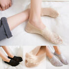 Fashion Cotton Lace Invisible Liner Sock Charm Low Cut Casual Antiskid Sock New