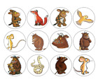 24 / 30 /PERSONALISED - GRUFFALO CUPCAKE TOPPERS - RICE PAPER BIRTHDAY CHILDREN