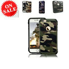 Verizon Camouflage Case Army Pattern Silicone Cover For iPhone 6 +,6s +/6,6s/7