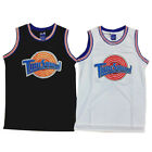 Mens Space Jam Tune Squad Basketball Jersey Michael #23 Black White S -2XL  UK