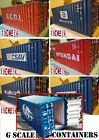 NEW G SCALE SHIPPING CONTAINER 45mm GAUGE 20' CARGO FREIGHT CONTAINERS FOR TRUCK