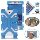 "US Blue Universal Case Kids Safe Shockproof Silicone Cover For 8""~9"" inch Tablet"