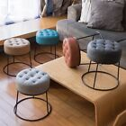 Art Leon Furniture Dwarf Round Stool Ottoman Footrest Small Seat 5 Color Seating