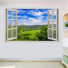 Custom Home Decor Wall Signs COUNTRYSIDE FIELDS SCENERY WALL STICKERS 3D ART MURAL ROOM OFFICE SHOP DECOR SB5 Home Decor Goods