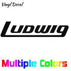 Ludwig Drums Logo Decal | Band Sticker *Multiple sizes and colors*