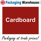 CARDBOARD RECYCLING SIGN CS213 SAFETY STICKER RIGID INDOOR OUTDOOR