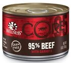 Wellness CORE Grain Free Natural 95% Beef and Carrots Recipe Wet Canned Dog Food