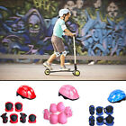 Kids Skating Bicycle Riding Protective Gear Set Helmet Knee Elbow Pads Guards