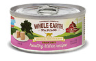 Whole Earth Farms Grain Free Real Healthy Kitten Pate Canned Cat Food