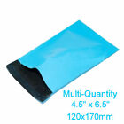 LIGHT BLUE Mailing Postage Parcel Bags 120x170mm Self Seal Recyclable  Poly