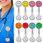 Nurse Watch Brooch Tunic Nursing Nurses Clip-On Pendant Pocket Quartz Fobwatch