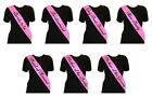 Hen Party Sashes Night Do Sash Bride To Be Bridesmaid Maid Mother Of  6 Colours!