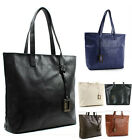 Womens Designer Bags Ladies Roomy Shopper Bag Faux Leather Shoulder Tote Bag 01