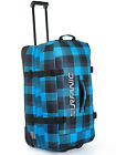 Split Roller Bag 100L Wheeled Travel Trolley Luggage Suitcase Bag Blue New