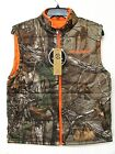 Camo Realtree Reversible Vest ~ New