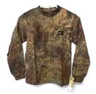 Mossy Oak Camo Pocket Long Sleeve T-Shirt XS - L Youth ~ New