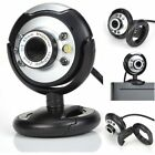 Lot Night Vision USB 2.0 6 LED Web cam Camera With Mic For PC Laptop USA EE
