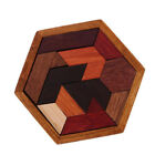 EP_ Wooden Intelligence Toy Chinese Brain Teaser Game Toy 3D Puzzle for Kids Adu