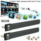 clear tv digital antenna commercial - Clear TV Key Antenna Clear Digital HDTV Indoor Antenna Cable As Seen On TV