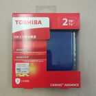 Toshiba 2TB USB 3.0 HD External Hard Disk HDD External Storage Laptop pc genuine