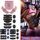 Abs Electric Muscle Toner EMS Machine Wireless Toning Belt Simulation Fat Burner image