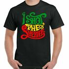 I Shot The Sheriff Bob Marley Mens Reggae T-Shirt Music And The Wailers Jamaica