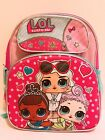 """LOL Surprise Dolls Girls 16"""" Back to School Backpack Lunch Box 100% Authentic"""