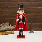 38/25cm Wood Soldier Nutcracker Puppet Action Figure Gift Christmas Decorations