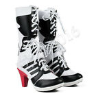 Batman DC Comics Suicide Squad Harley Quinn Cosplay Boots High Quality Shoes NEW