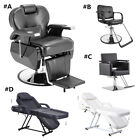 Barber Chair Hair Styling Salon Hydraulic Beauty Shampoo Spa Bed Cutting Shaving