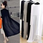 wraps clothing - New Women Casual Long Sleeve Coat Wraps Long Cotton Lace Outwear