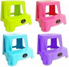 Kids Stepping Stool Toilet Training Two Step Stool Bathroom Stool Kitchen Stool