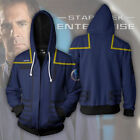 Star Trek Sweatshirts Cosplay Costume 3D Printed Sweatshirt Cardigan Sweater on eBay