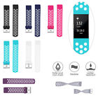 Replacements Silicone Watch Band Wristband Bracelets Band For Fitbit Charge 2