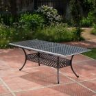 Abigail Outdoor Expandable Rectangular Dining Table