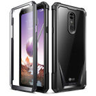 LG Stylo 4 / Stylo 5 Case,Poetic Hybrid Shockproof Clear Back TPU Bumper Cover