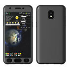 For Samsung Galaxy Express Prime 3/Amp Prime 3 Full Hybrid Tempered Glass Case