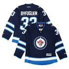 Dustin Byfuglien Reebok Winnipeg Jets Navy Blue Home Edge Premier Jersey Womens