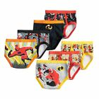 Внешний вид - The Incredibles II Boys Briefs Toddler 7-Pack Underwear 100% Cotton Size 4T
