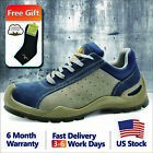 safety toe boots - Safetoe Safety Shoes Mens Work Boots Breathable Leather Steel Toe US Size 5 - 13