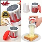 Stainless Cheese Grater Butter Shredder Grinder Baby Food Supplement Kitch Tool