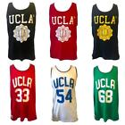 UCLA Mens Gym Sports Lounge Tank Top Vest Summer Holiday Jersey Basketball Size