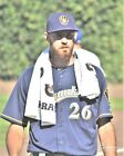 Taylor Jungmann Milwaukee Brewers Game Orig PhotoArt Pic Var Sizes on Ebay