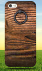GRAY METAL DOOR KNOCKER ON WOODEN PANEL HARD BACK CASE FOR APPLE IPHONE PHONE